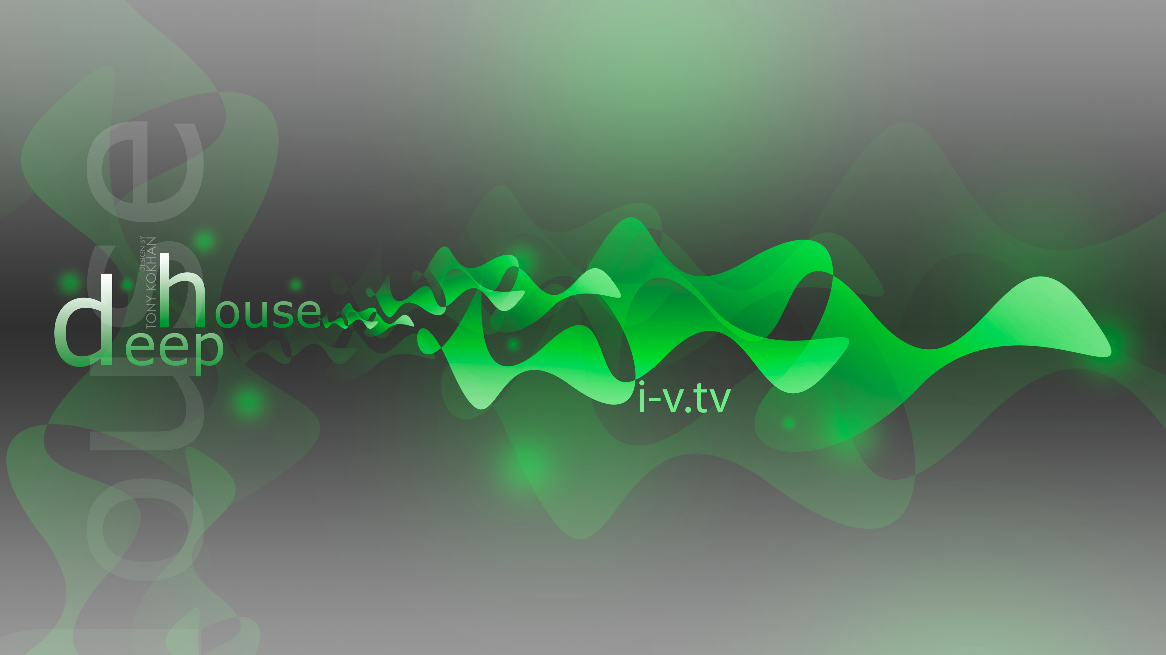 Deep House Music Abstract Wave Style 2015 INO VISION 3840x2160
