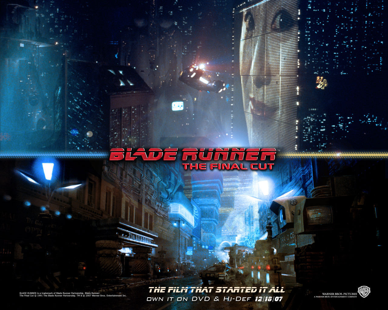 Official Blade Runner Wallpaper   Blade Runner Wallpaper 8207469 1280x1024