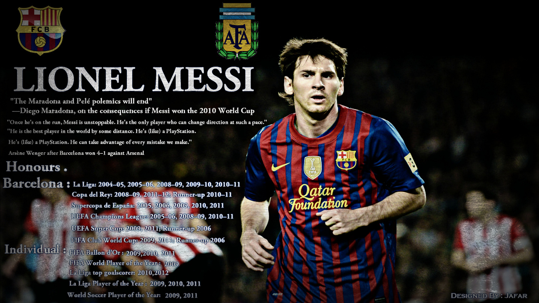 Lionel Messi Barcelona 2013 HD Wallpaper For Desktop 1440x810