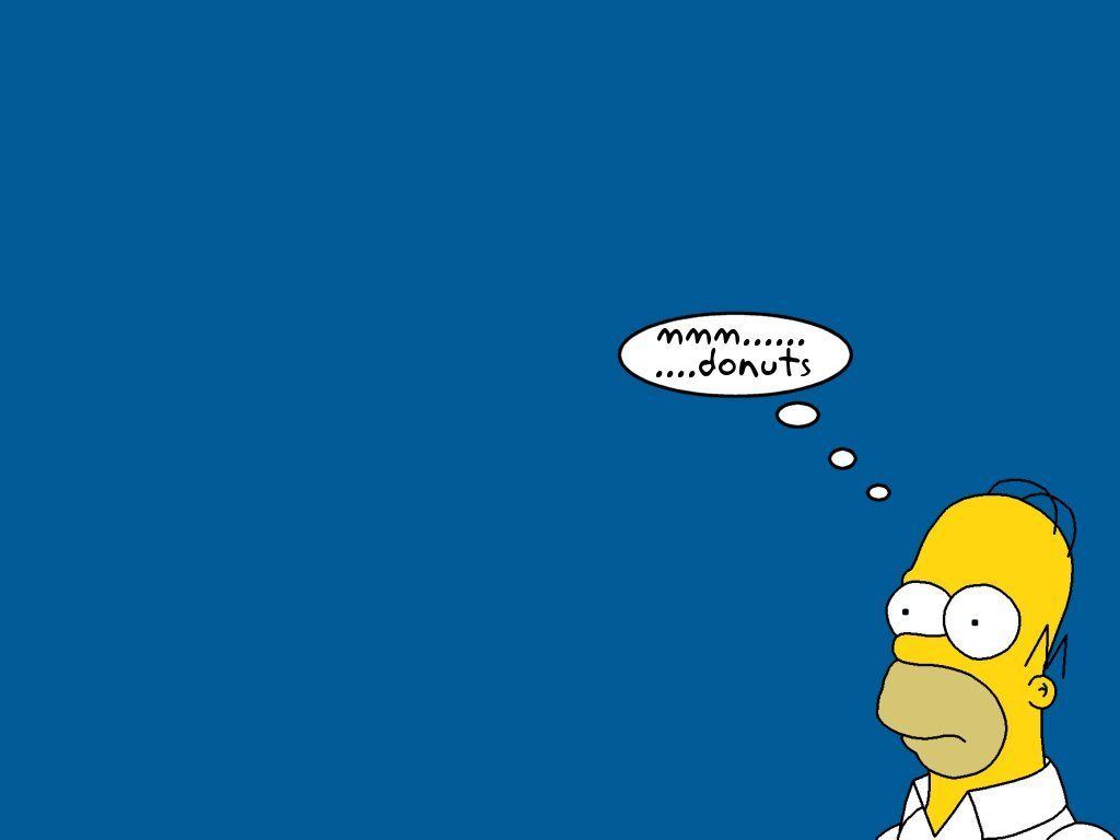 Free Download Sfondo Homer Simpson Per Pc Wallpaper Land 1024x768