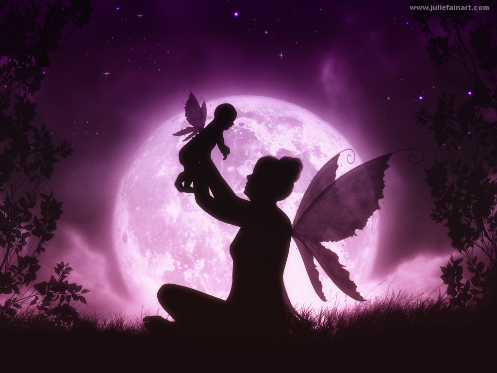 download Julie Fain Art silhouette art mermaid art fairy art 1024x768