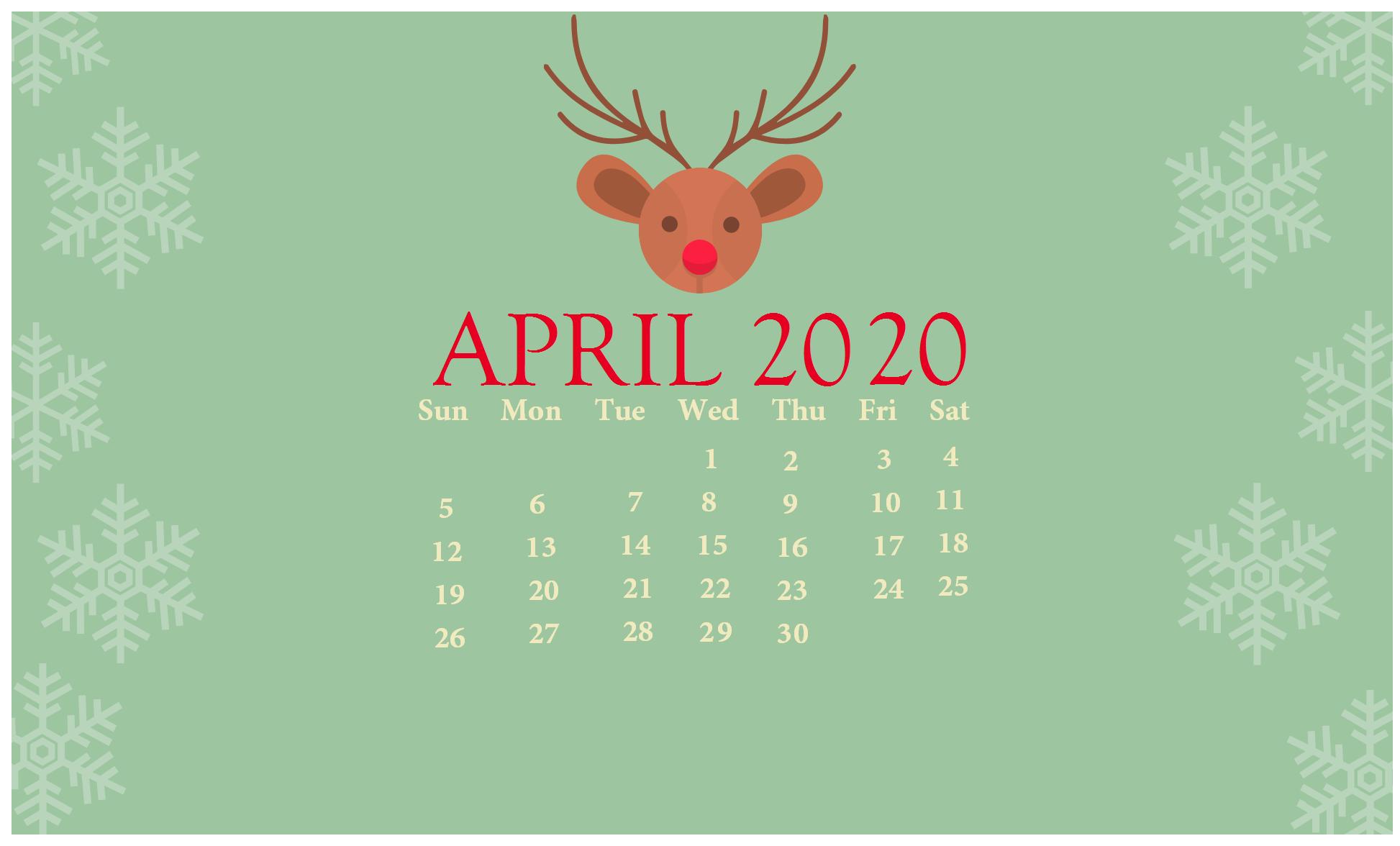 download Cute 2020 Desktop Calendar Wallpaper Latest Calendar 1946x1176