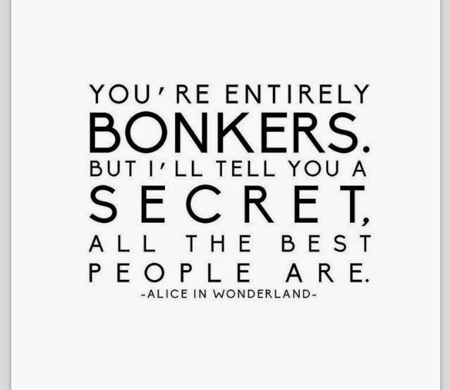 alice in wonderland have i gone mad quote images
