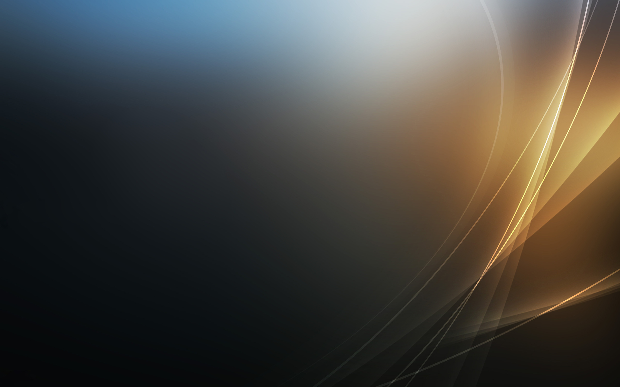 Blue And Gold Backgrounds 2560x1600