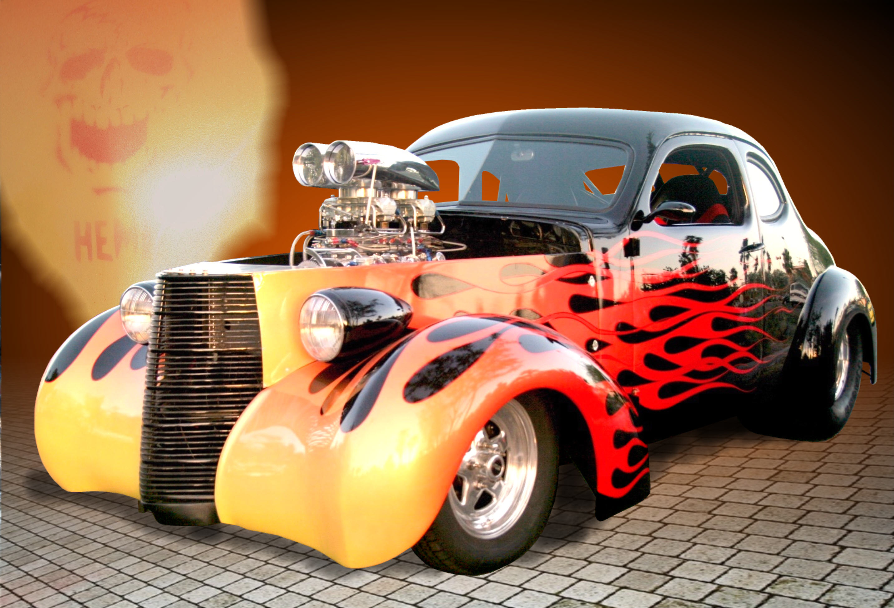 Hot Rod Computer Wallpapers Desktop Backgrounds 2864x1950 ID 2864x1950