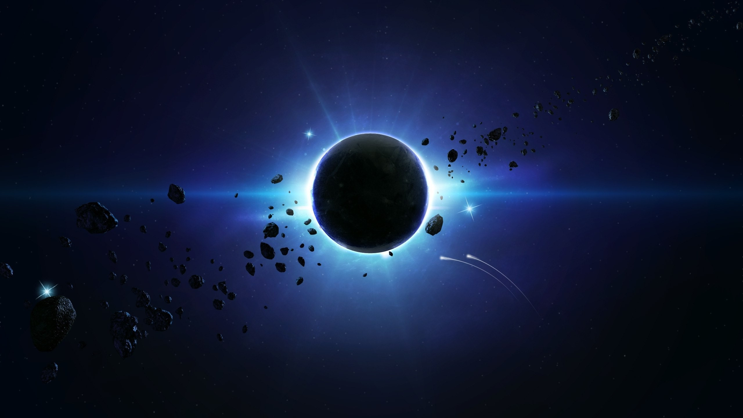 solar Eclipse, Planet, Space, Asteroid, Space Art ...