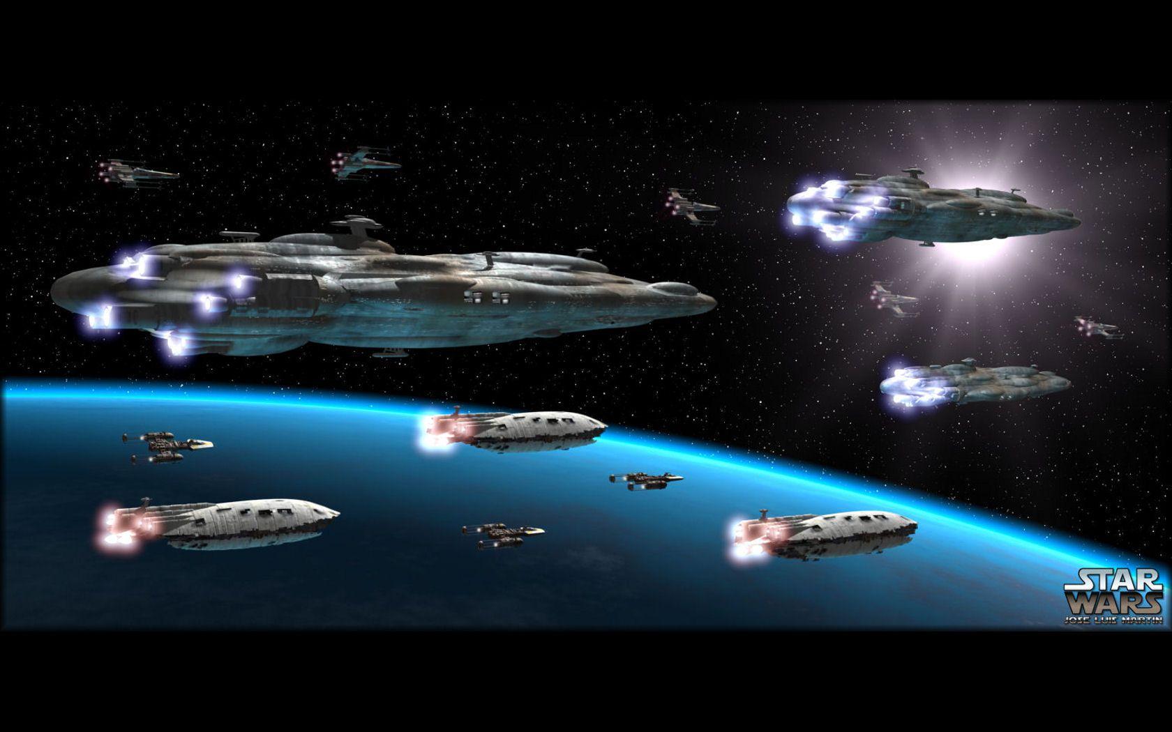 Alliance Fleet Star Wars Star wars wallpaper Star wars Star 1680x1050