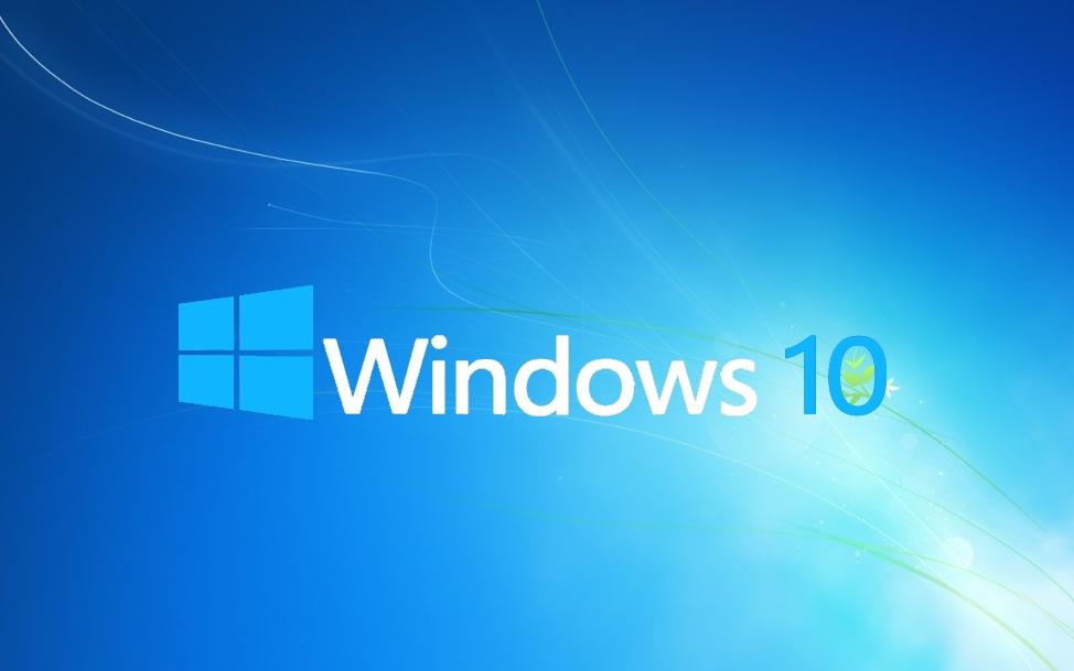 Windows 10 Blue Wallpaper Latest Hd Wallpapers 974x609
