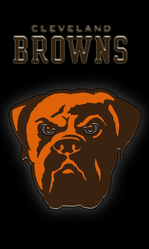 Cleveland Browns Screensaver 480x800