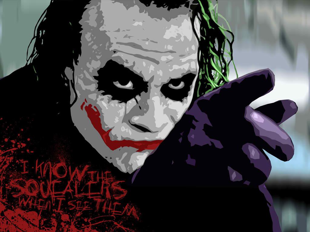 Free Download The Joker Heath Ledger Dark Knight Desktop 1024x768