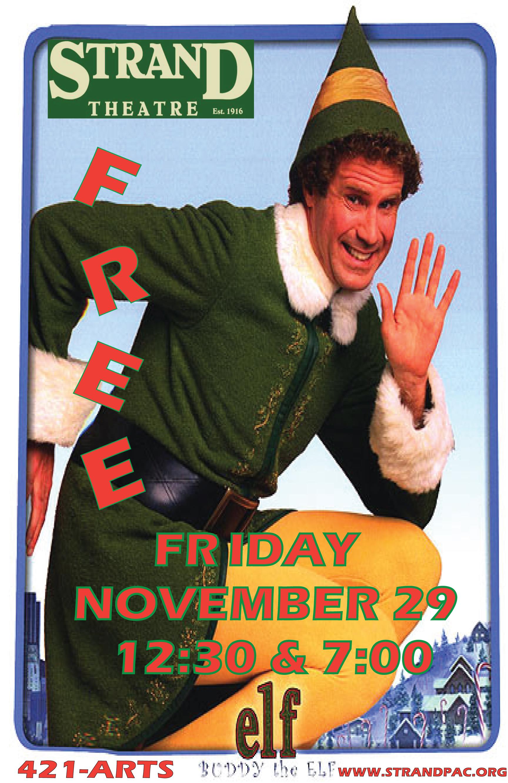 Elf Movie Wallpaper Annual free holiday movie- elf