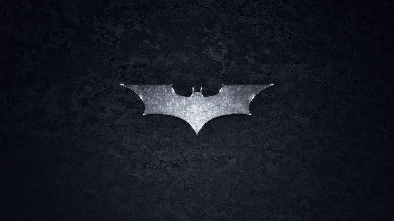 Batman logo wallpaper 5806 1366x768