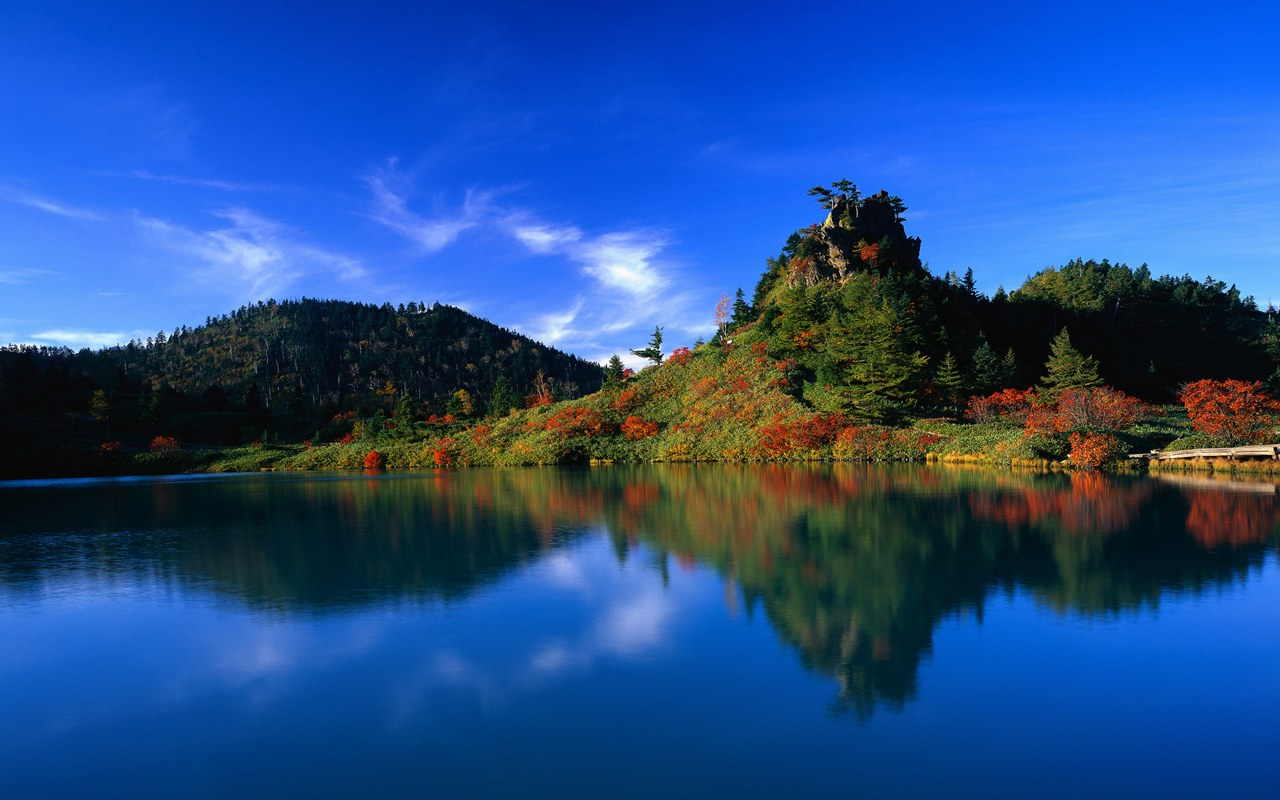Japanese landscape wallpaper Clickandseeworld is all about Funny 1280x800