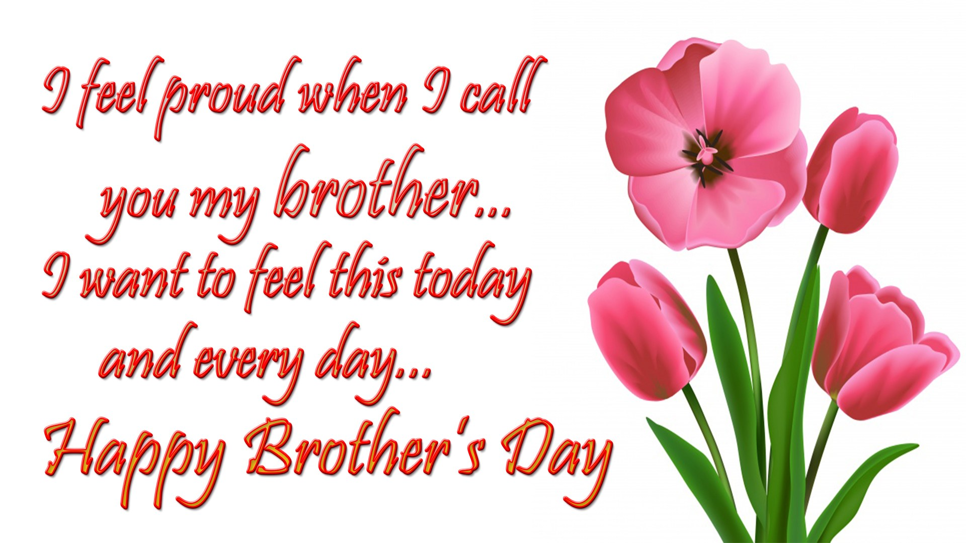 Happy Brothers Day Wishes Greetings Messages Images 1920x1080