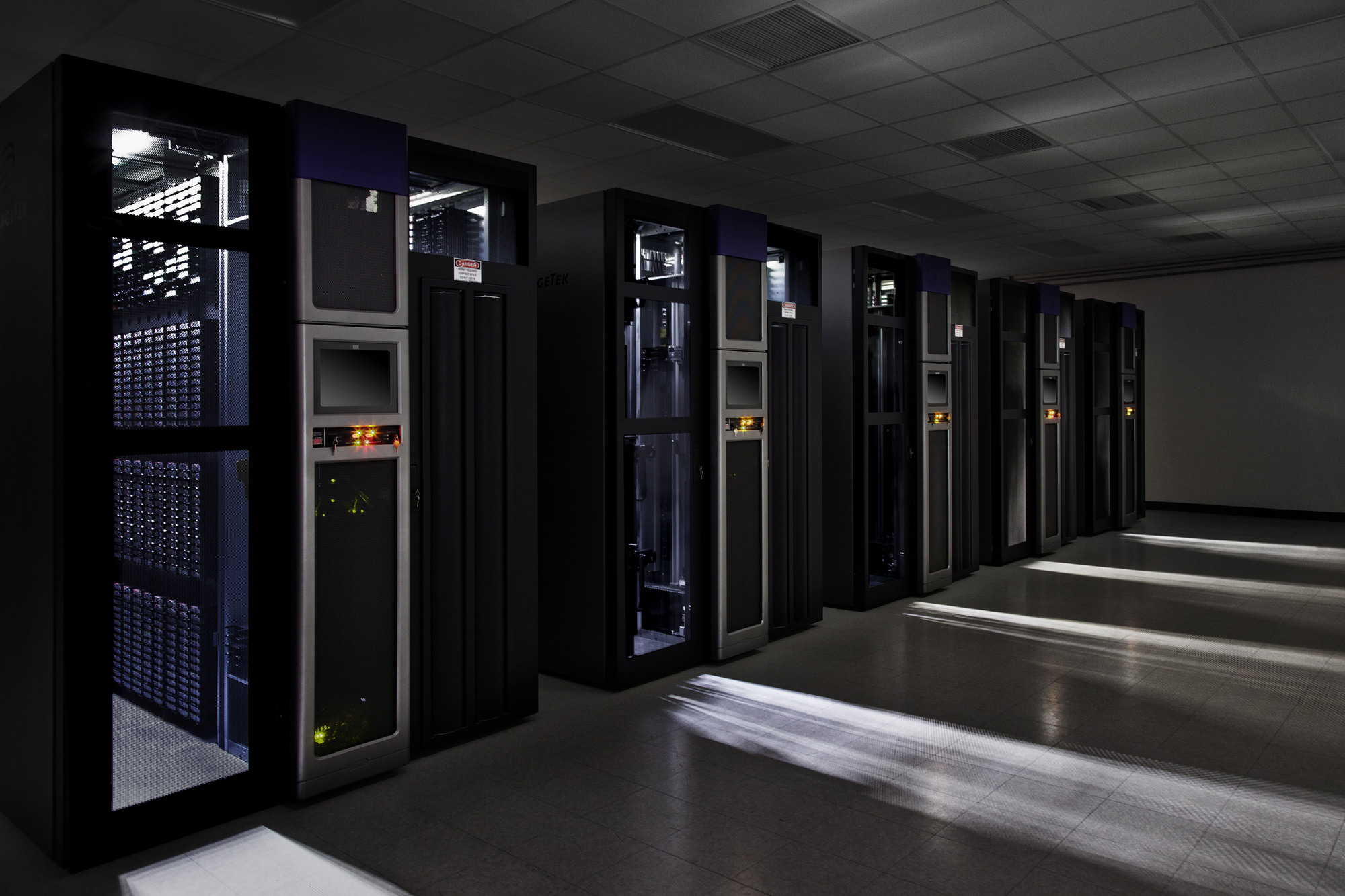 Google Data Center Tour