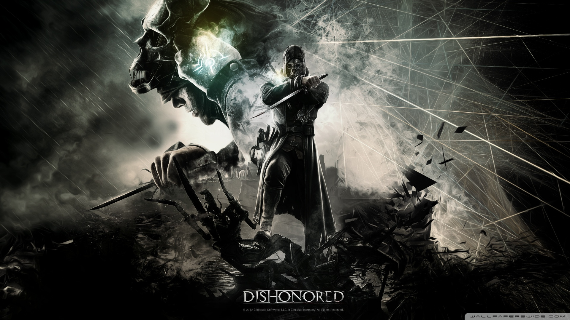 Dishonored Video Game Wallpaper 1920x1080 Dishonored Video Game 1920x1080