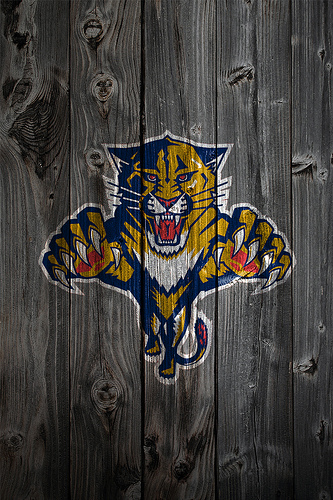 Florida Panthers Wood iPhone 4 Background Flickr   Photo Sharing 333x500