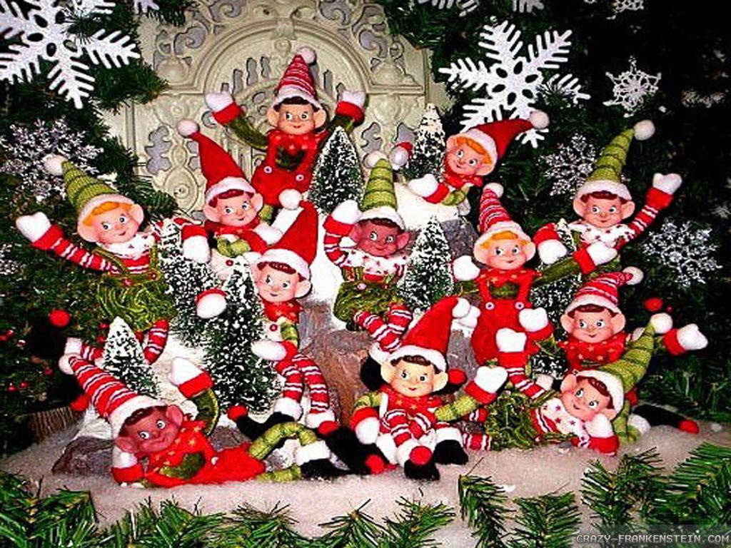 Santas elves wallpaper   HD Wallpapers 1024x768