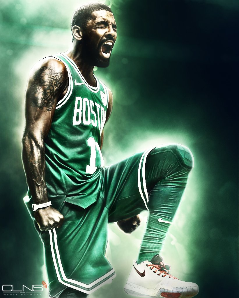 Creative Ideas Kyrie Wallpaper Celtics On Clns Twitter   Kyrie 821x1024