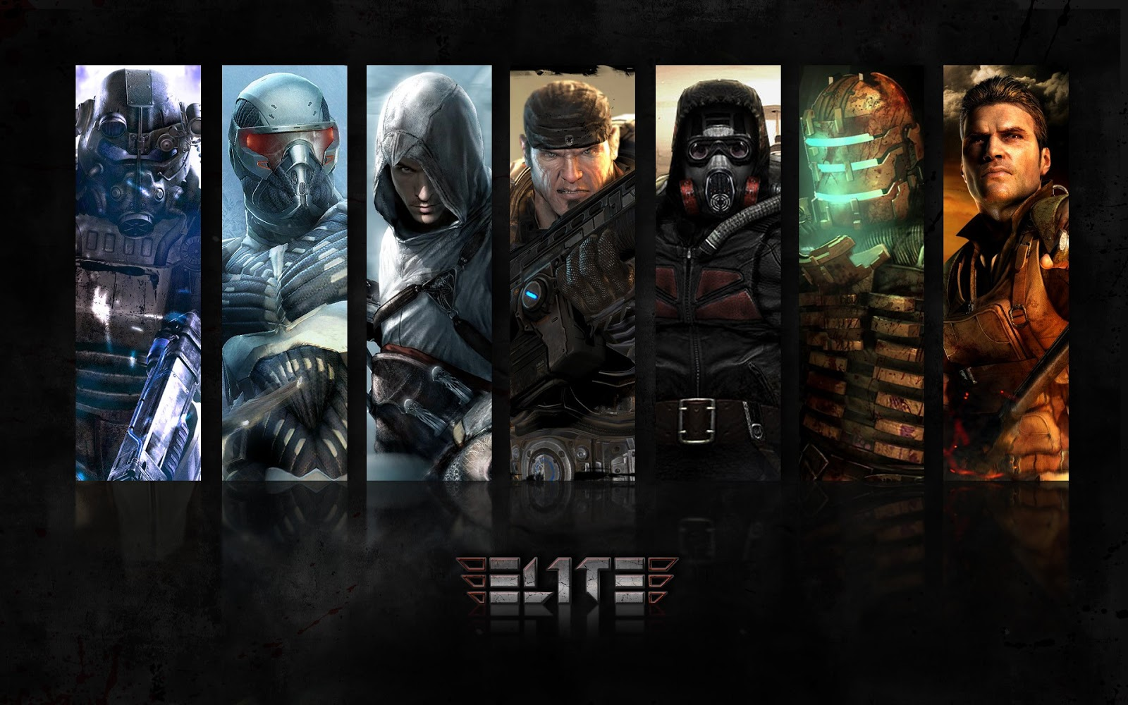 Top Games Male Characters ELIT3 Games Gaming FPS HD Wallpaper PC 1600x1000