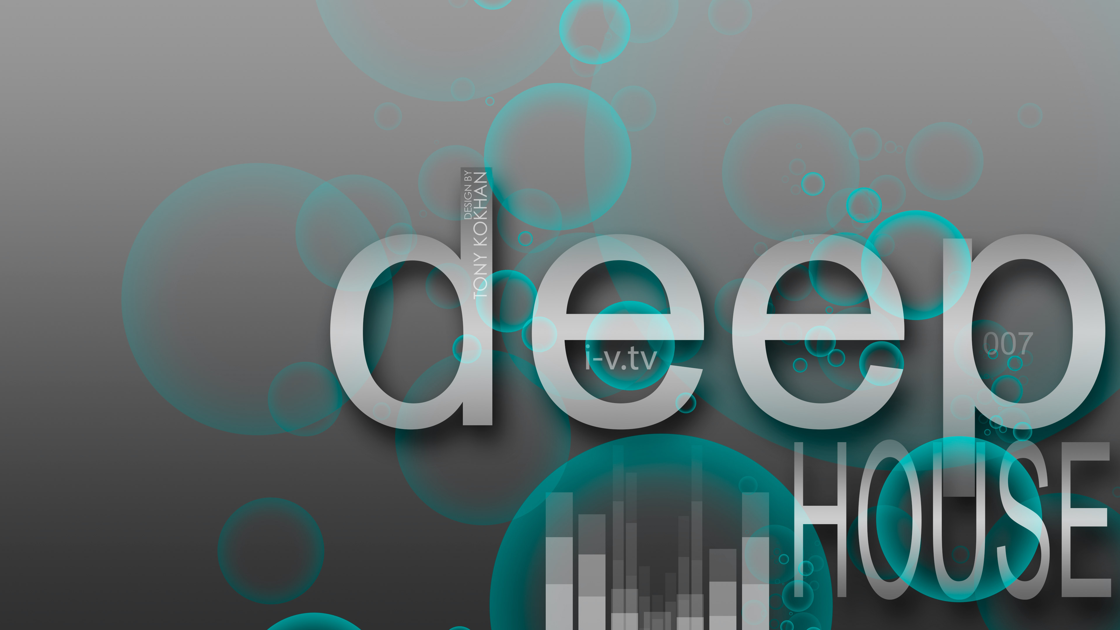 Deep House Music eQ Bubble Style 2015 Art Deep Seven Sound 3840x2160