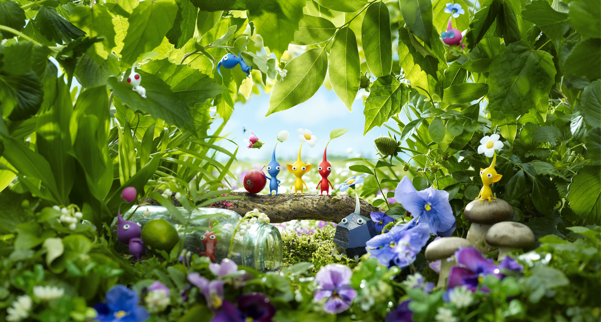 Pikmin 3 HD Wallpapers and Background Images   stmednet 1920x1028