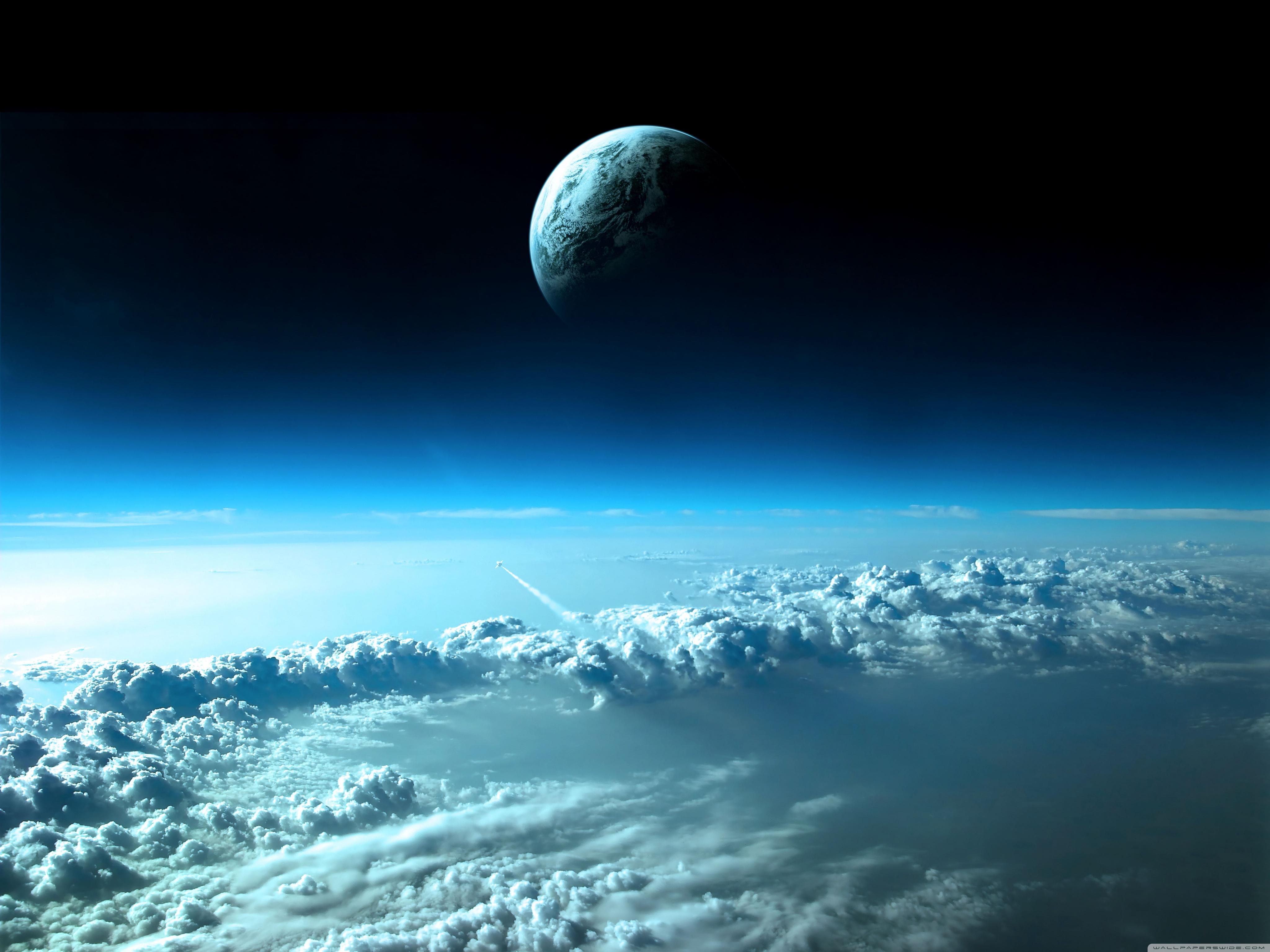 Beautiful Space View 4K Desktop Wallpaper Desktop Backgrounds 4096x3072