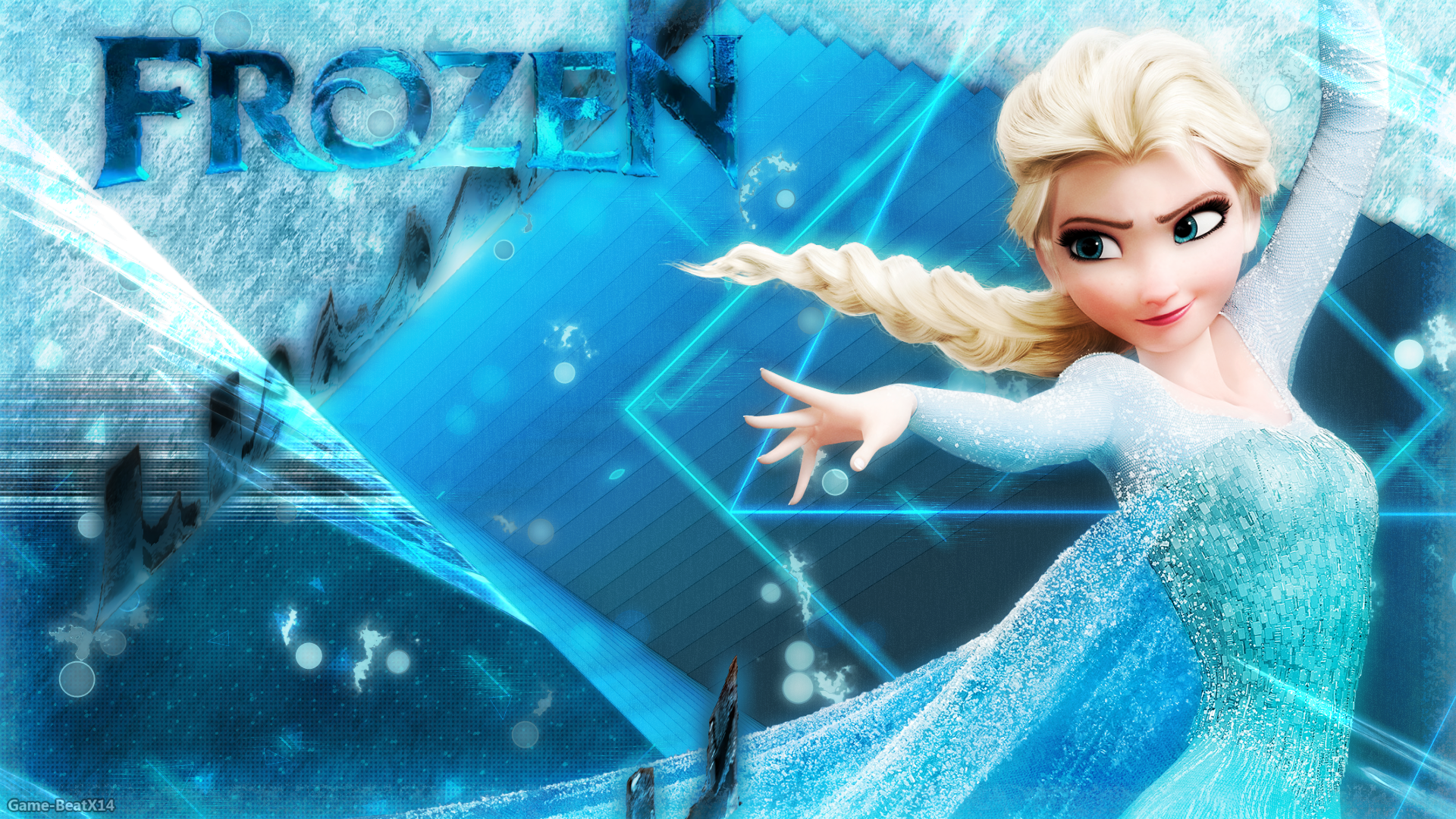frozen wallpaper by game beatx14 fan art wallpaper movies tv inspired 1920x1080