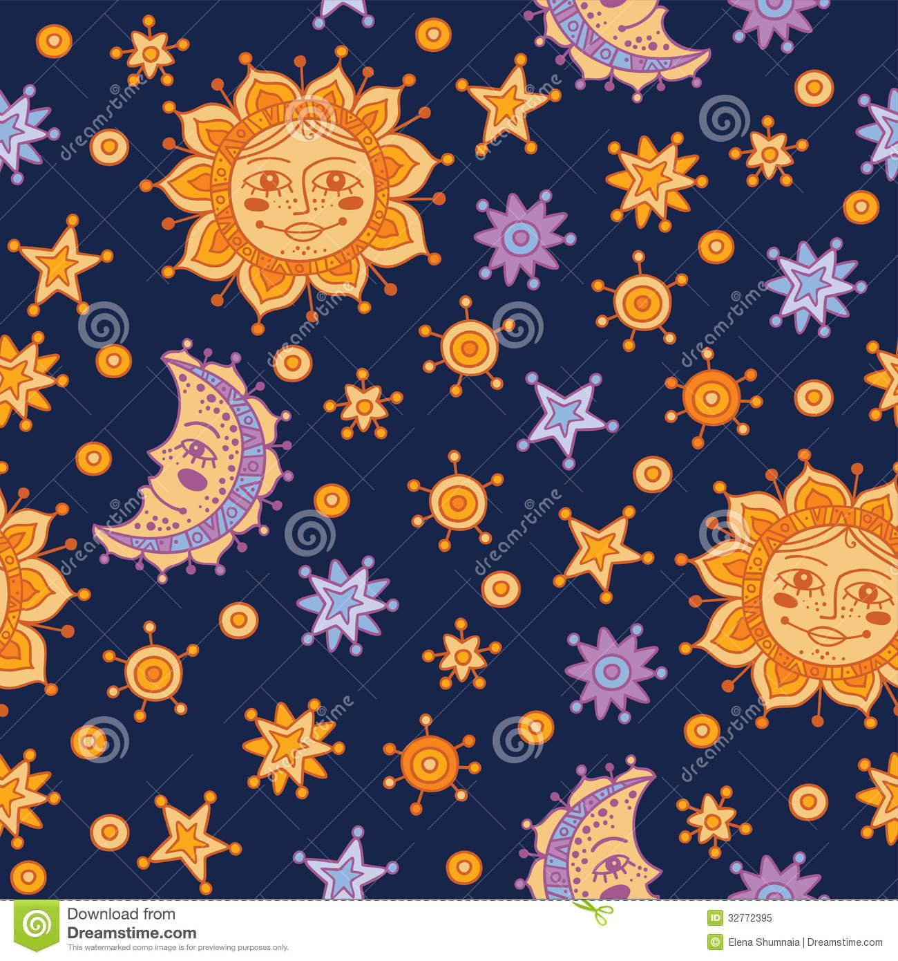 worksheet Sun And Stars sun moon stars wallpaper wallpapersafari and backgrounds seamless