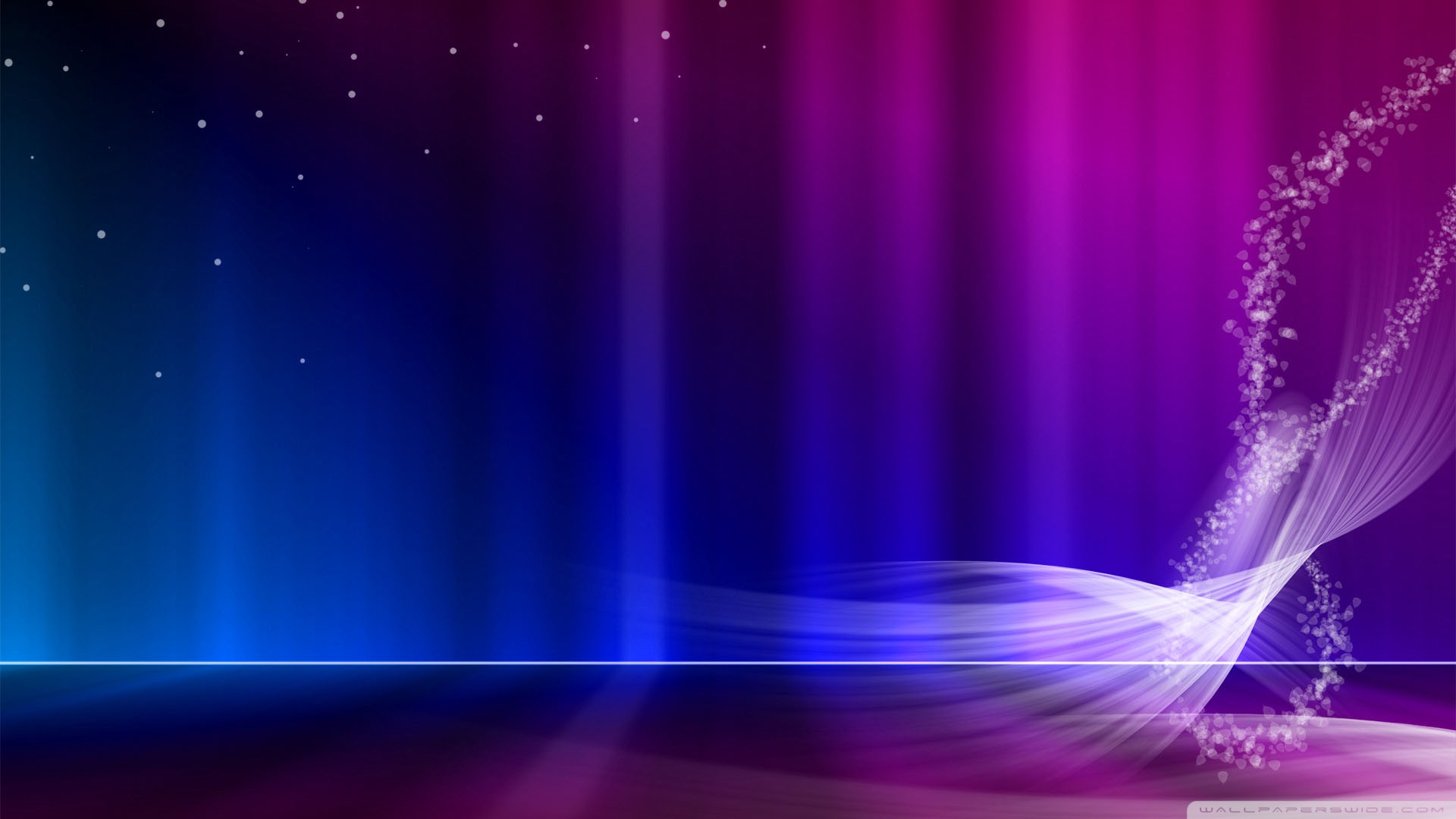 And Purple Aurora Wallpaper 1920x1080 Vista Blue And Purple Aurora 1920x1080