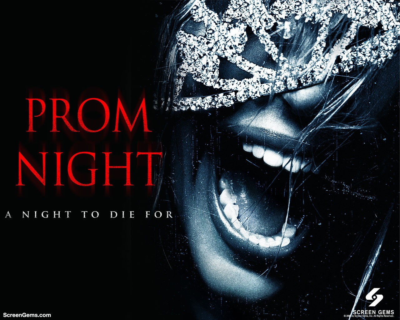 horror night poster screaming scary movie prom scream HD Wallpaper of ...