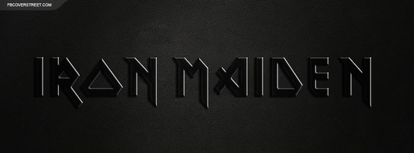 Iron Maiden Logo Wallpaper 851x315