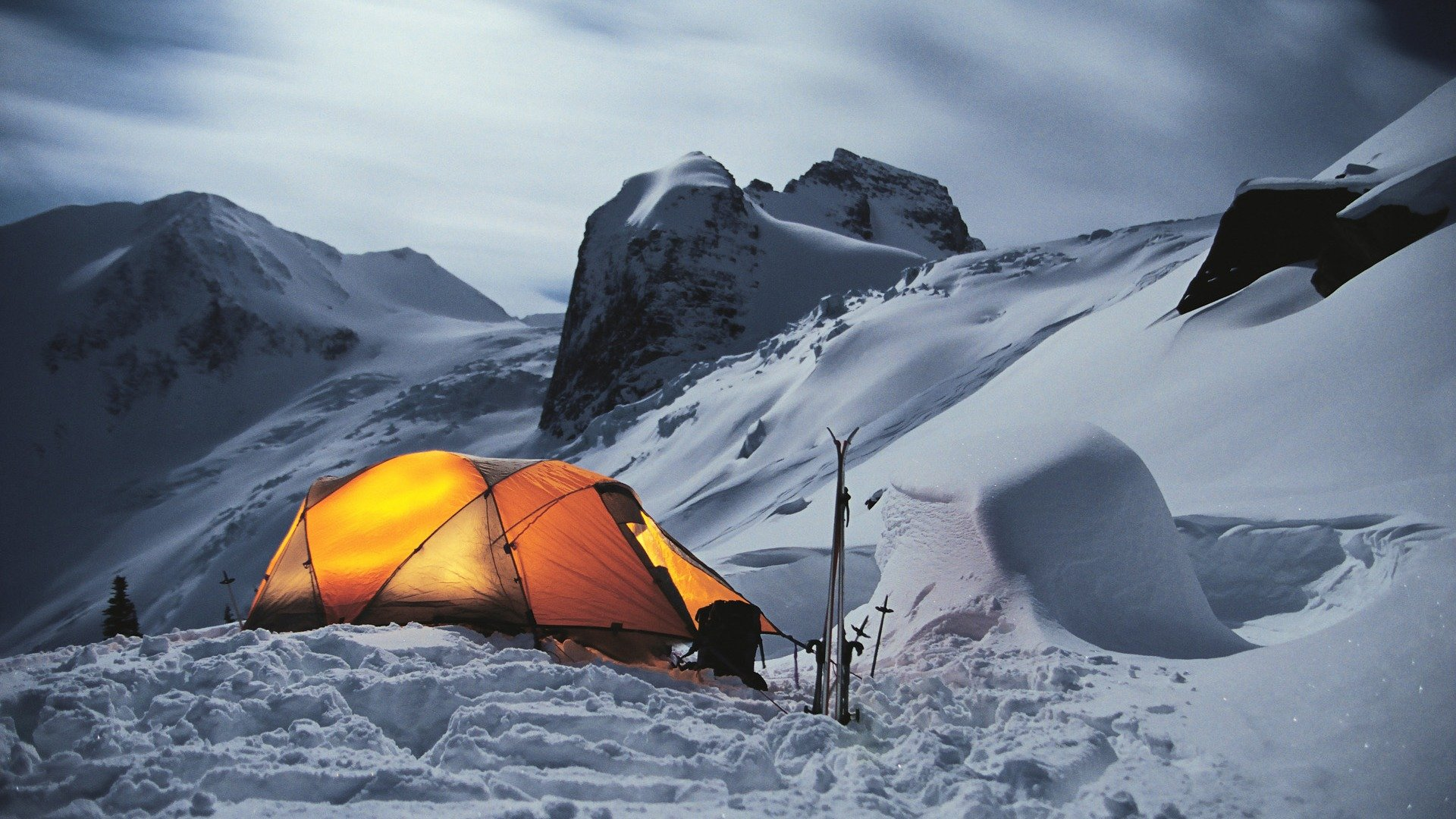 Winter Camp Windows 10 HD Wallpaper   1920x1080 wallpaper download 1920x1080