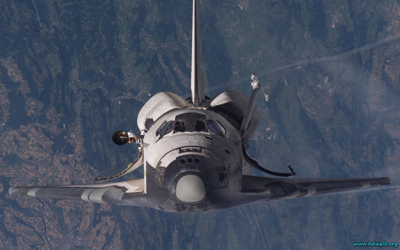 Description download Space Shuttle wallpaper background in HD 1280x800