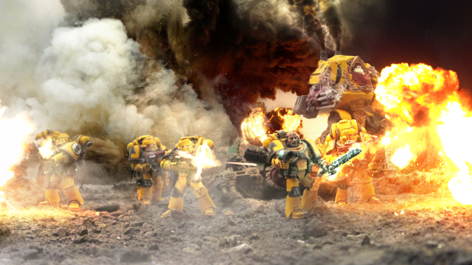 The Imperial Fists by ARKURION 1600x900