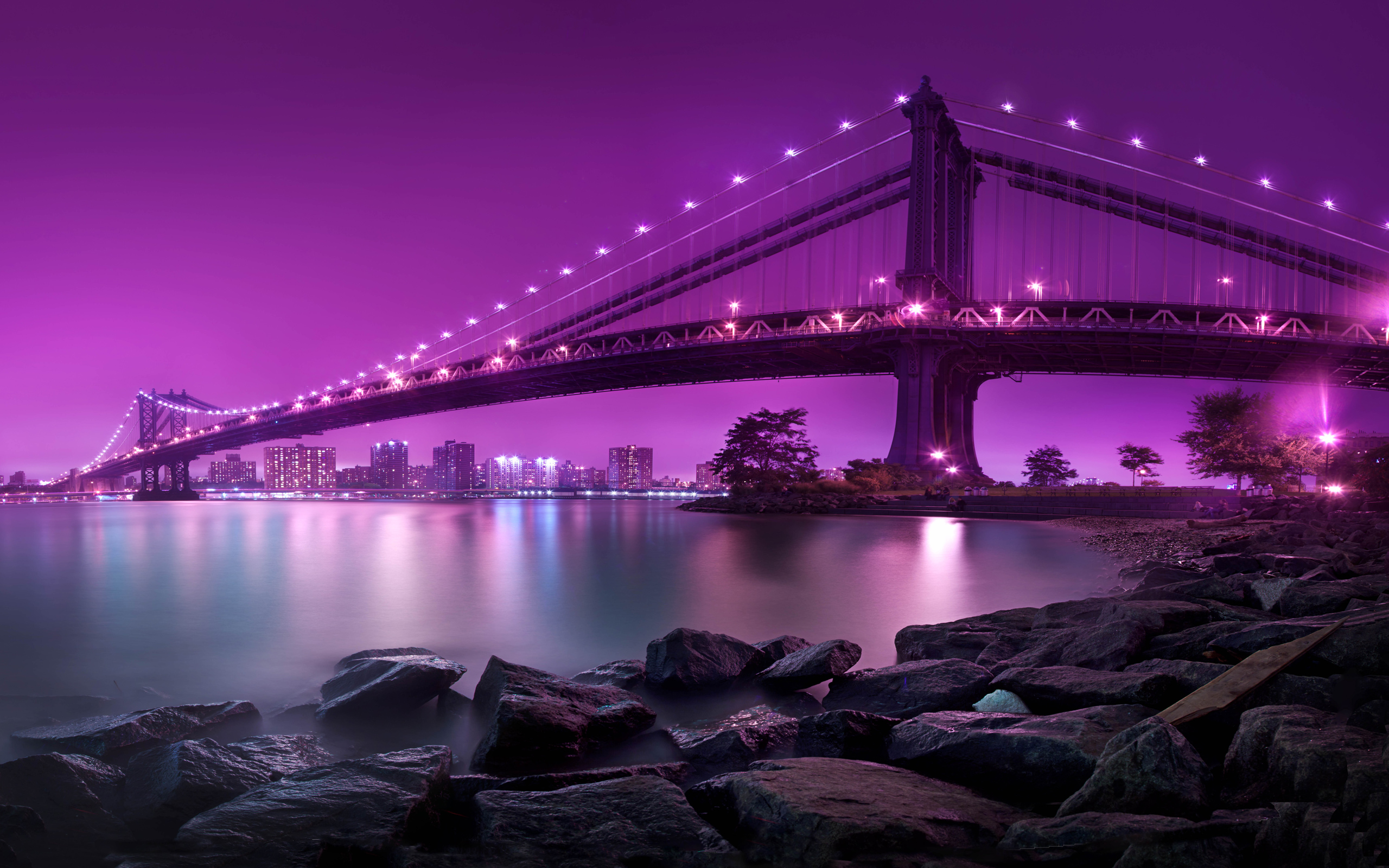 Manhattan Bridge New York City Wallpapers HD Wallpapers 2560x1600