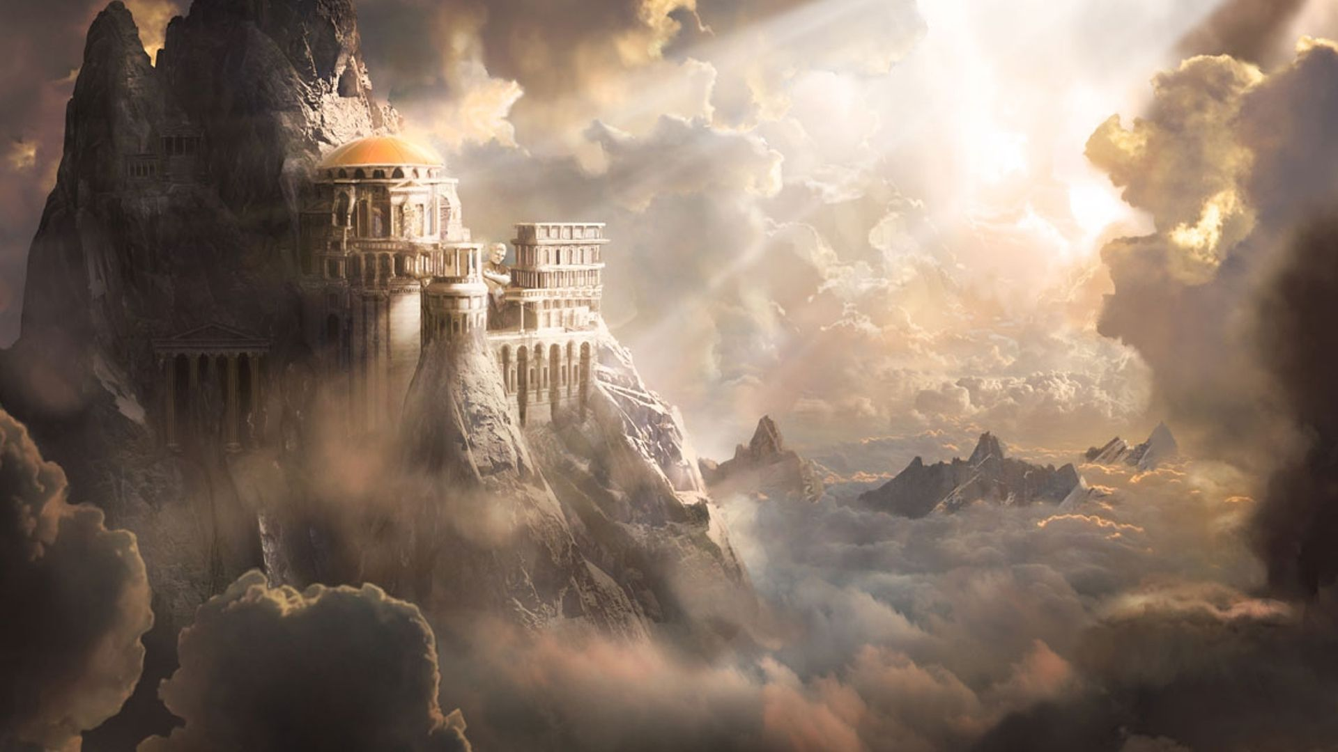 Pin by Tammy Jaye on Fantasy in 2019 Mount olympus God of war 1920x1080