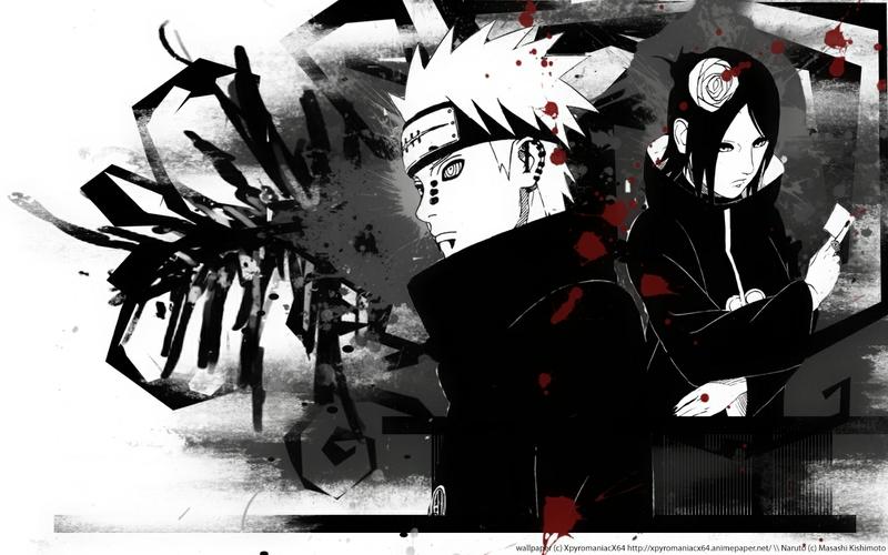 pain pain naruto shippuden akatsuki 1280x800 wallpaper Naruto 800x500