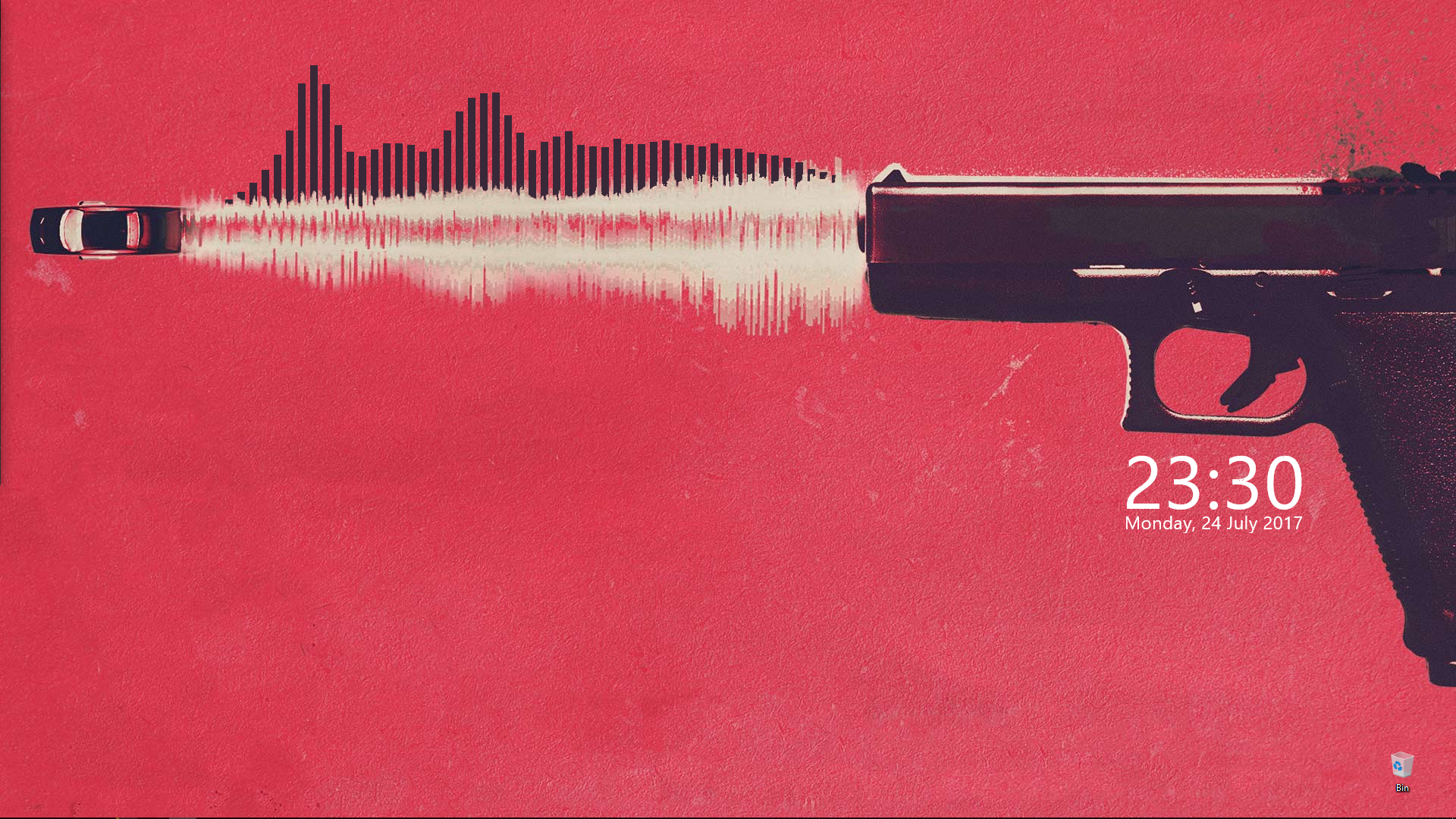 Baby Driver Wallpaper with audio visualizer   Album on Imgur 1920x1080