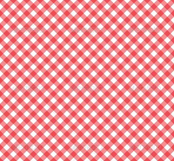 Gingham Pattern in Red and White   Backgrounds Decorative 590x545