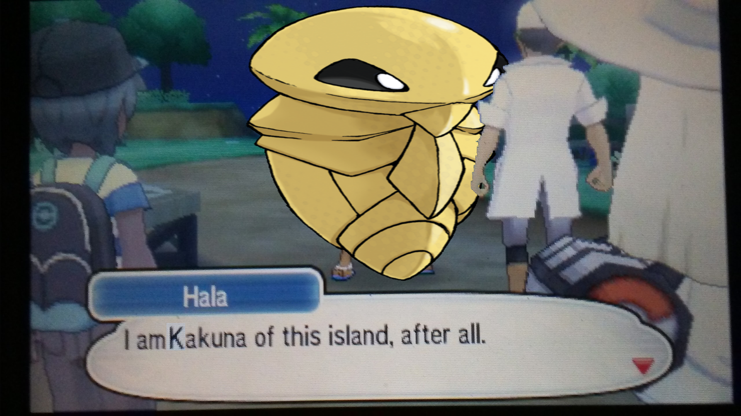 The Islands big Kakuna Pokmon Sun and Moon Know Your Meme 2560x1440