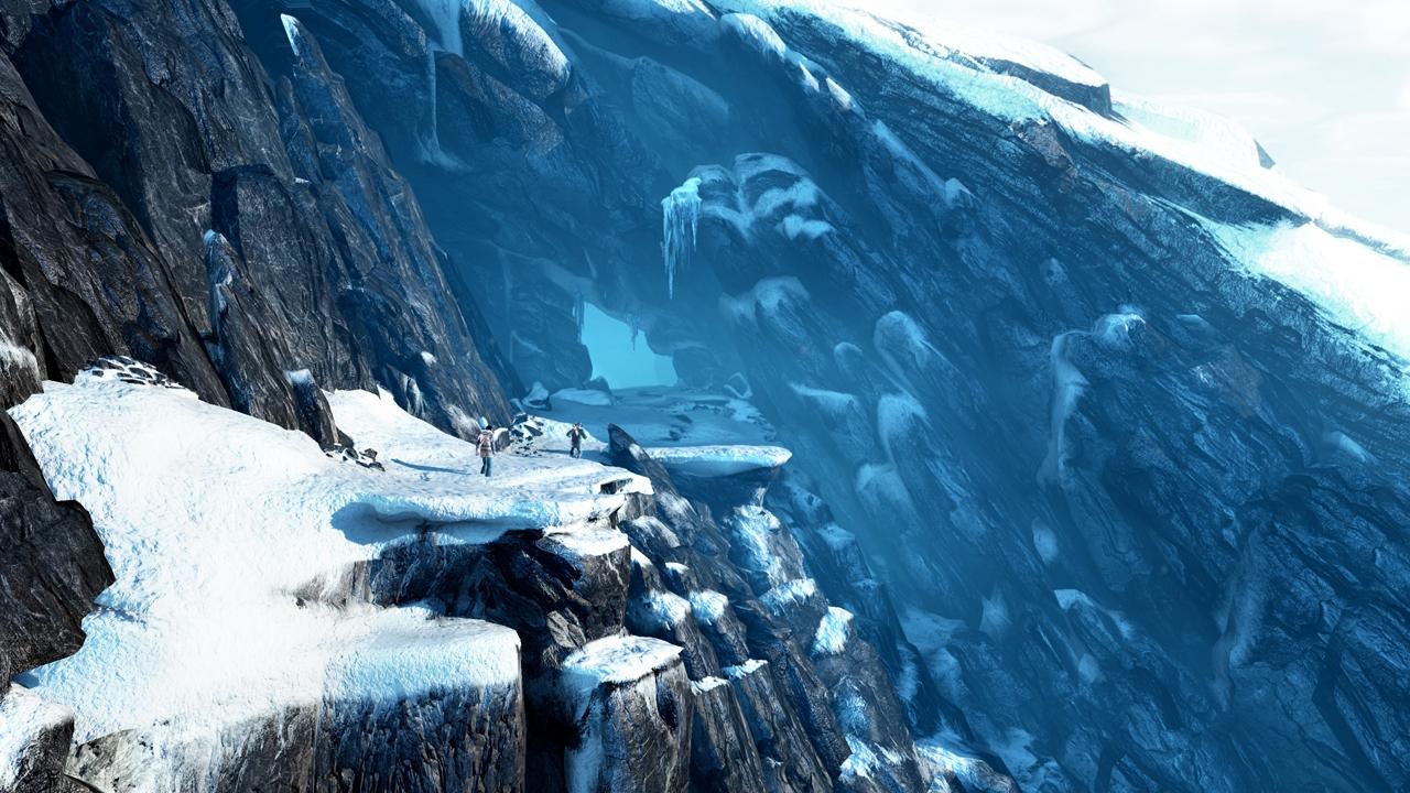 Uncharted 2   Icy Scene Wallpapers 1280x720
