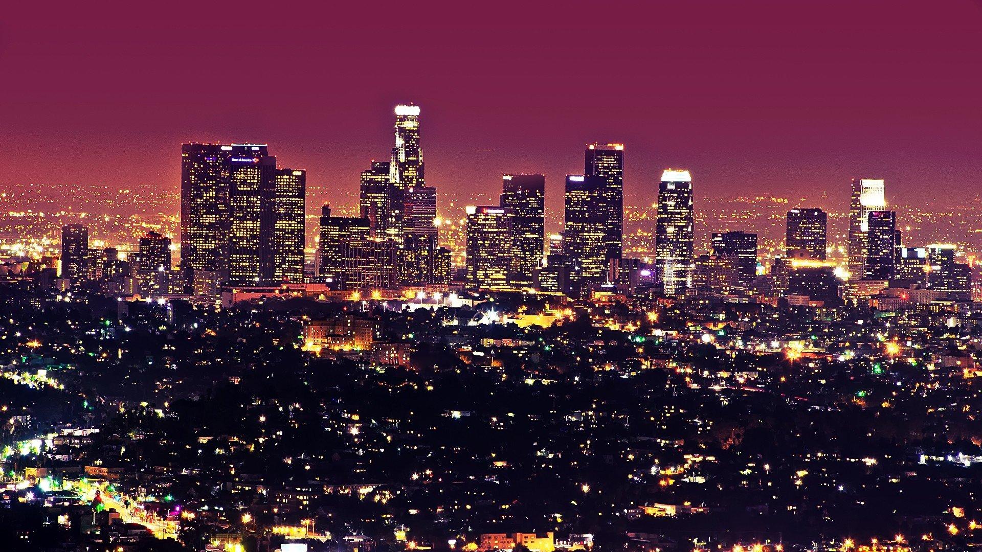 Los Angeles City Wallpaper hd Beautiful Los Angeles City at 1920x1080
