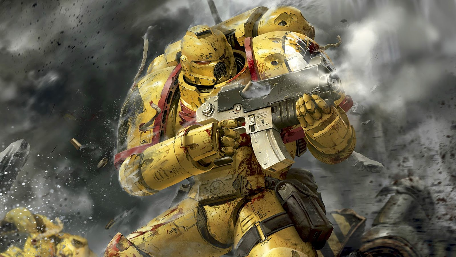 Battle Brothers Warhammer 40k Battle Report 3   Imperial Fists vs 1600x900