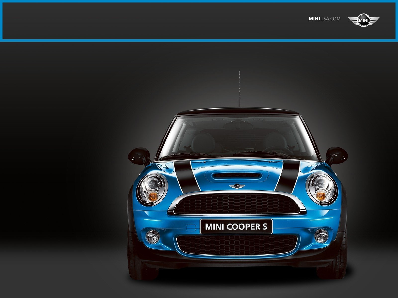 Mini Cooper Blue Exclusive HD Wallpapers 2246 1600x1200