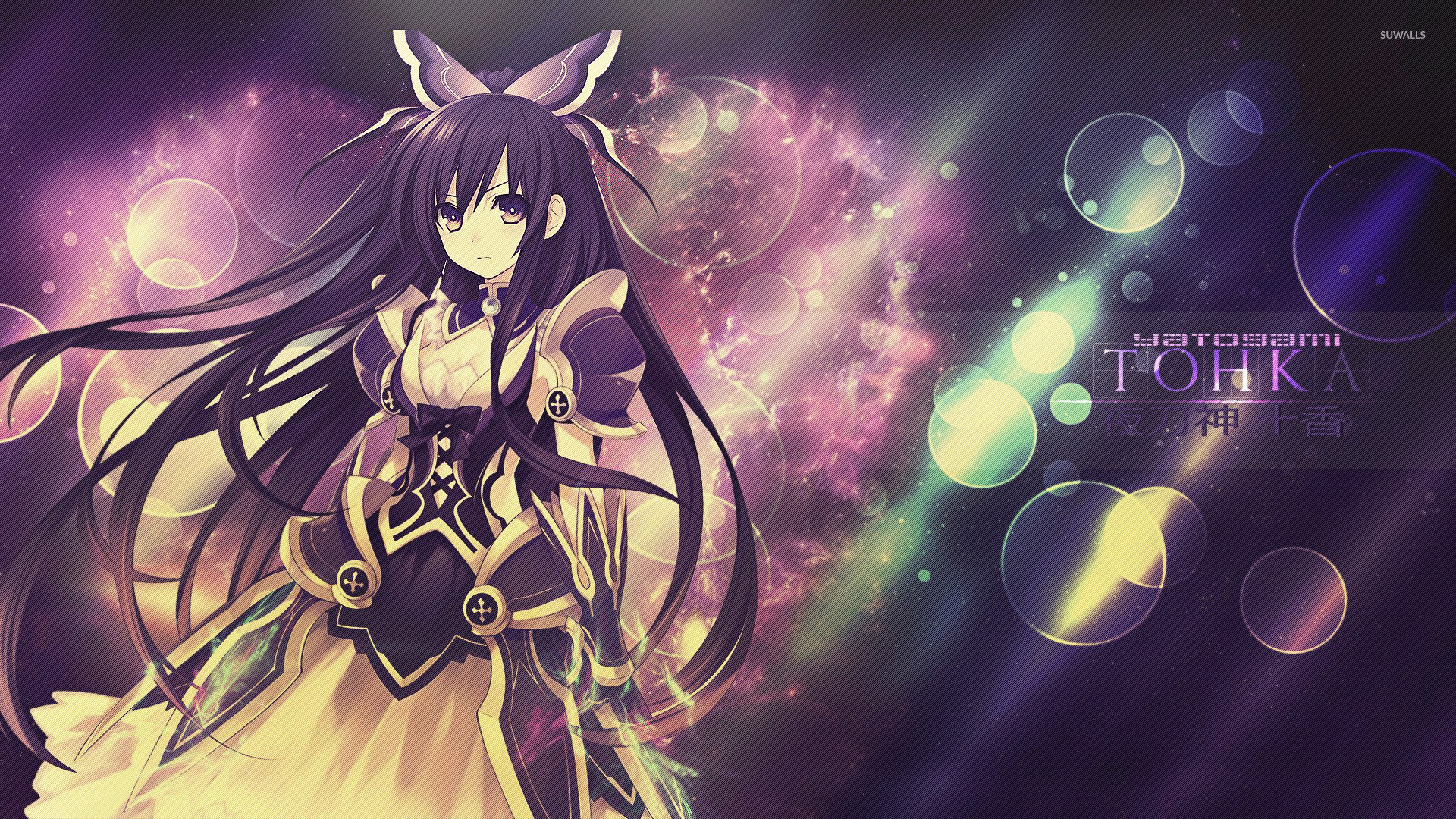 Tohka Yatogami   Date A Live wallpaper   Anime wallpapers   30332 1366x768