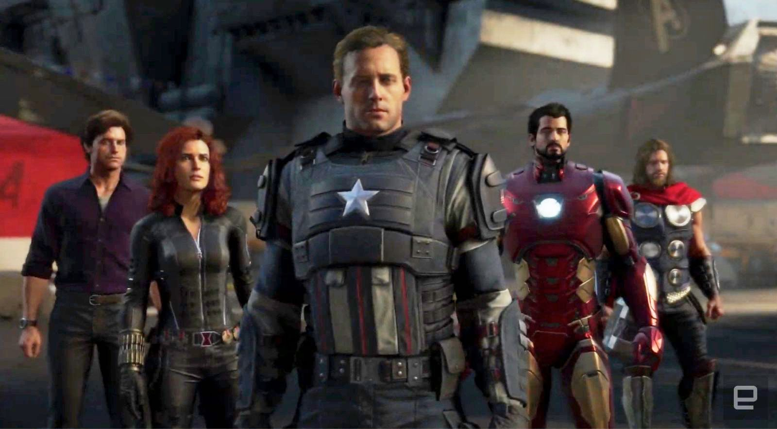 The Marvels Avengers game arrives May 15th 2020 Engadget 1600x883