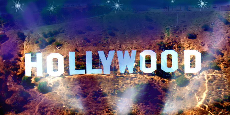Hollywood Sign Background Hollywood sign 900x450