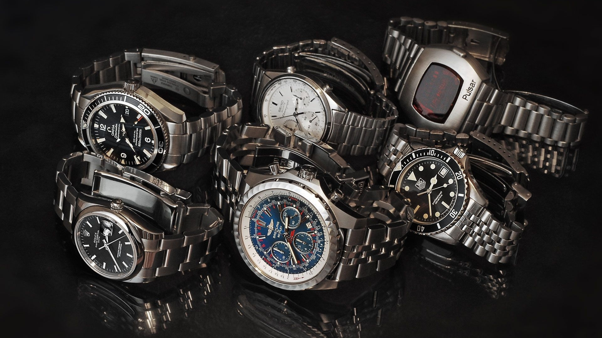 James bond Watches Rolex Wallpaper Background Full HD 1080p 1920x1080