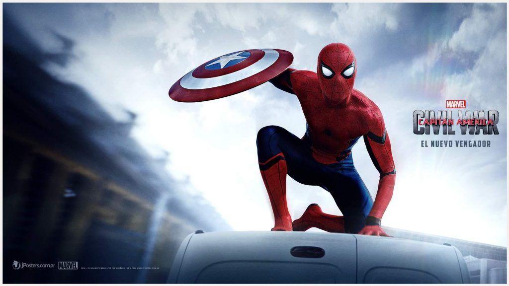 Captain America Civil War Spiderman Wallpaper captain america 1024x576